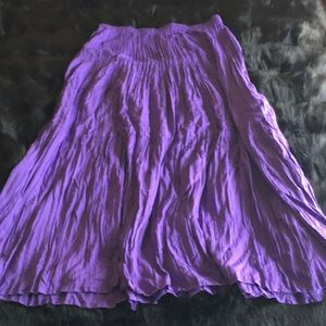 Pretty Coldwater Creek Peasant Skirt Size Large